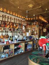 Jalopy Theatre's Musical Instrument Store